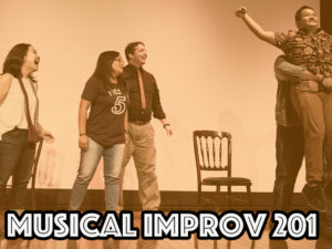 Musical Improv 201 (Must have taken Intro To Musical Improv) @ Happiness U at SALT in Kakaako